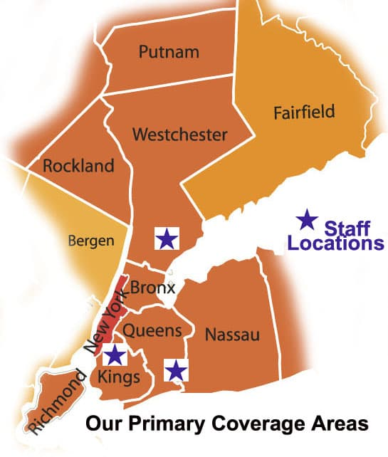 Contact Westchester Stair lift, support the full New York tri-state region
